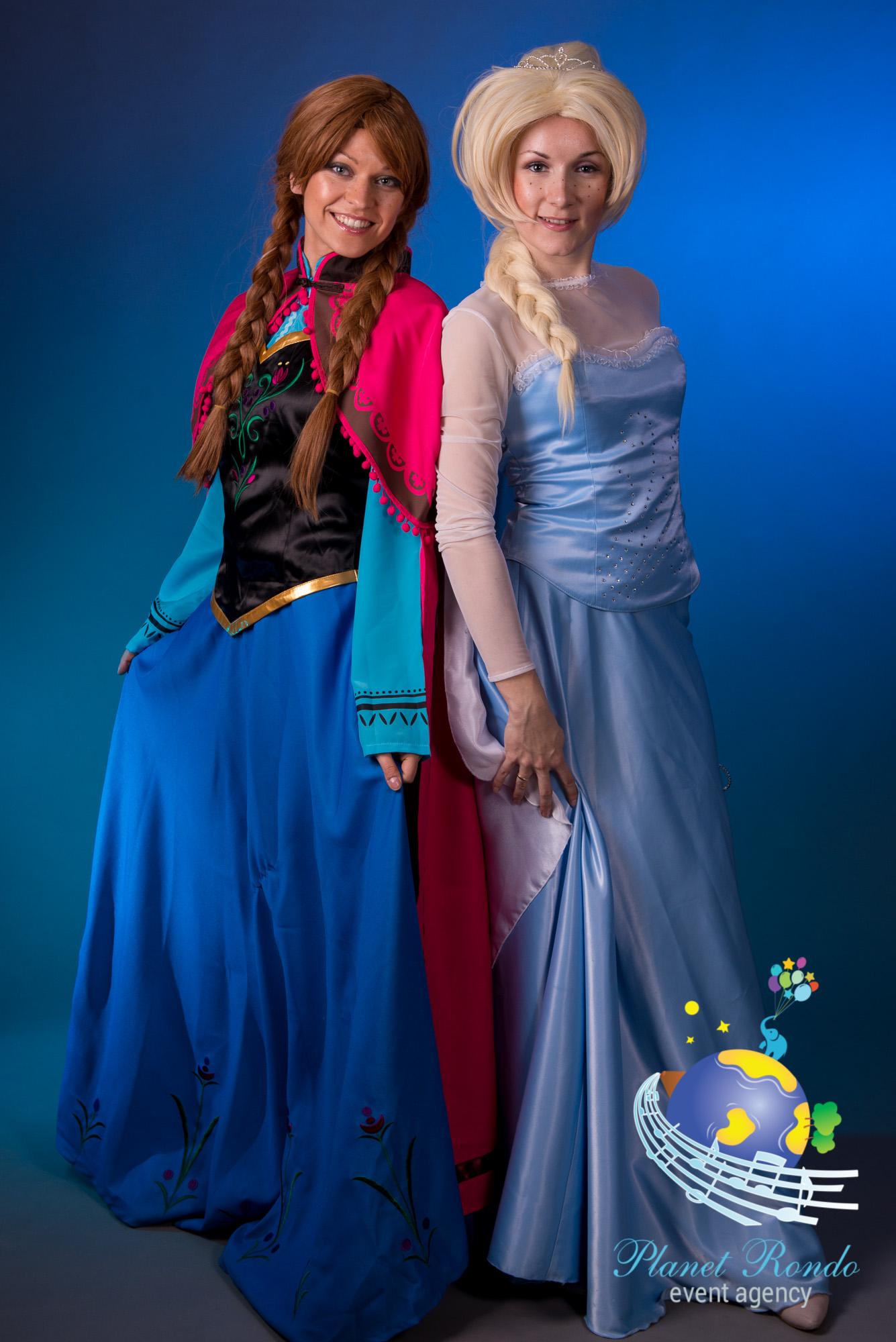 Hyra Elsa till kalas Trolla med is Underhållare Planet Rondo